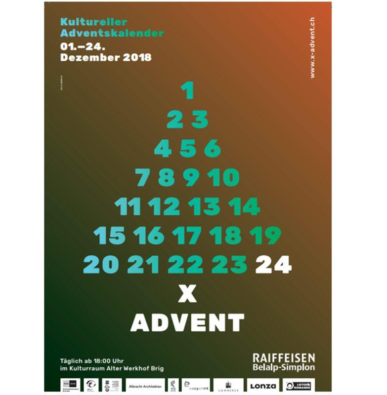 Alte Weihnachtskalender.Kultureller Oberwalliser Adventskalender Eine Alte Almgeschichte